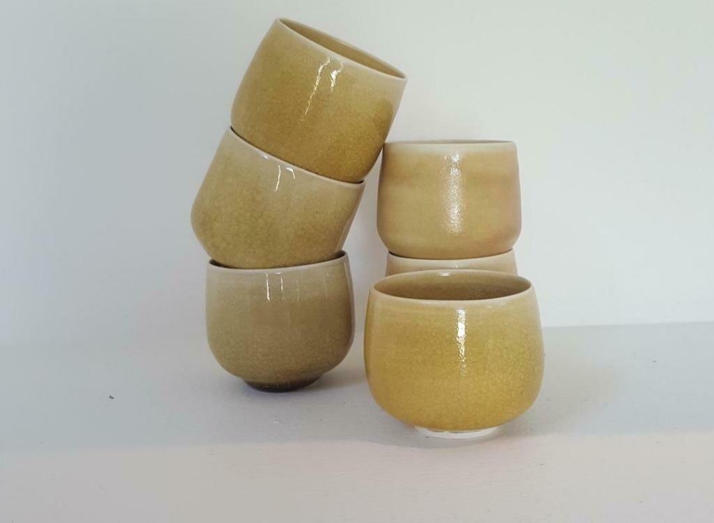 Bols ronds à thé, Alexandra Masson Corbes