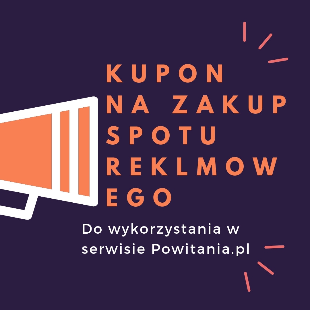 Nagranie spotu reklamowego w wykonaniu lektora Daniel - Kupon