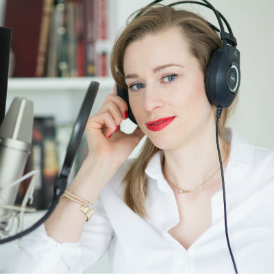 Nagranie zapowiedzi telefonicznych w wykonaniu lektora Magdalena - Kupon