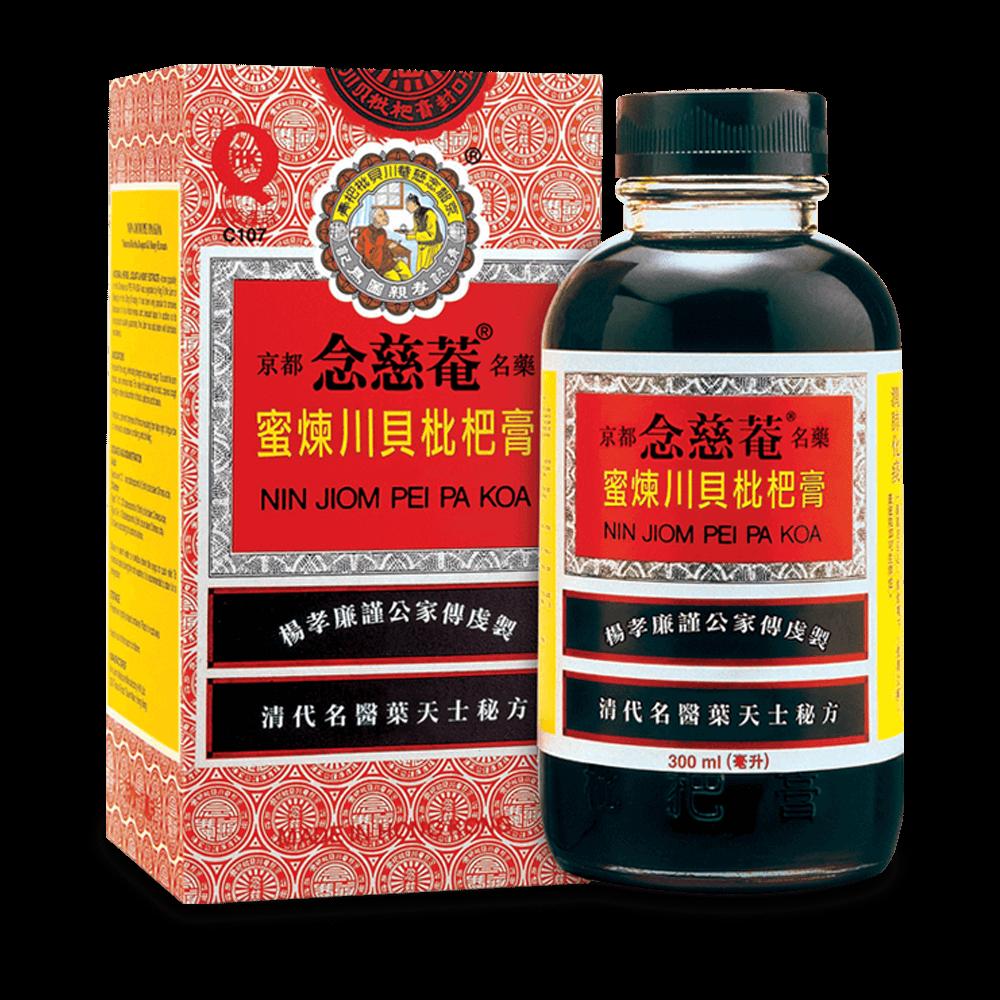 Nin Jiom Pei Pa Koa Syrup 300ml