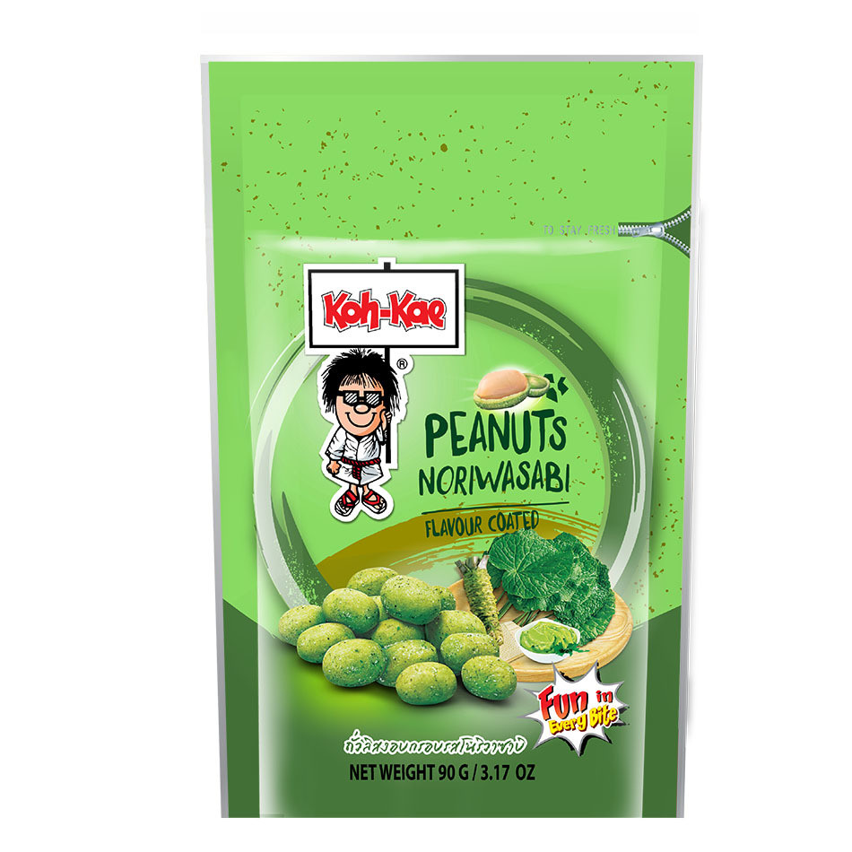 Koh-Kae Peanuts Nori Wasabi 230g