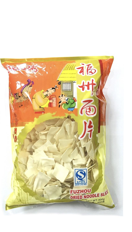 东之味福州面片 DZW Fuzhou Dried Noodle Slice 454g