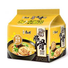 康师傅酸辣豚骨面五连包 Master Kong Spicy Sour Pork Ribs  Noodles 5 Packs