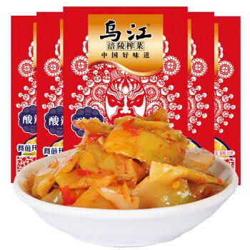 WJ Pickled Vegetables Spicy Sour 88g