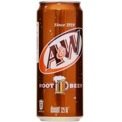 A&W Sarsaparilla Root Beer 330ml