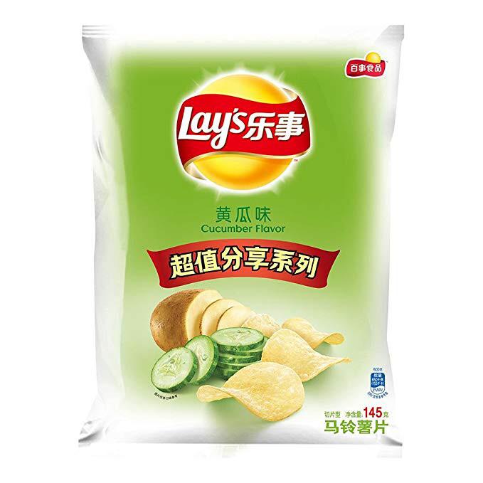 Lays Potato Chips Cucumber Flv 70g
