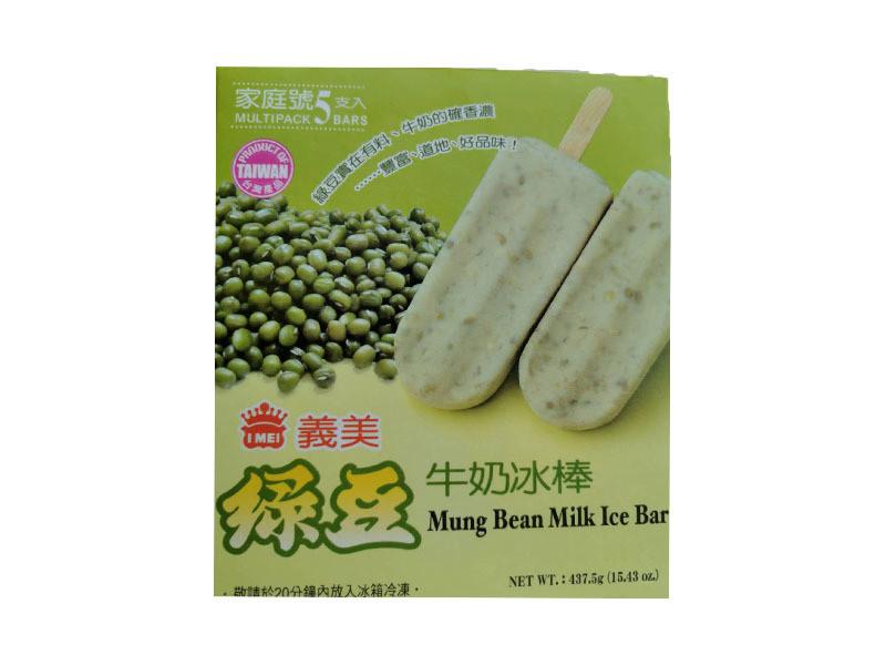 Yimei Milk Mung Bean Ice Bar 4 Pcs