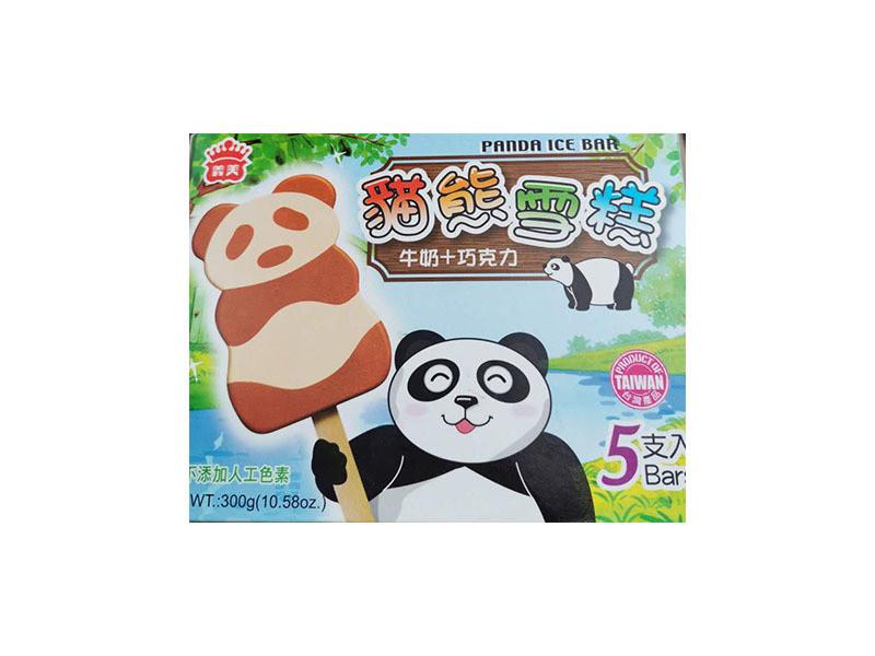 Yimei Panda Ice Bar 5 Pcs