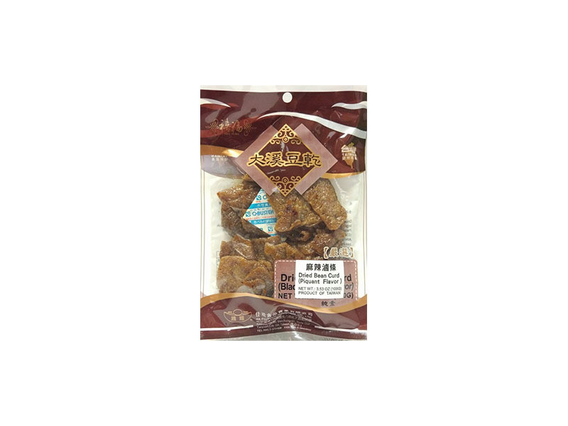 SF Dried Beacurd - Hot & Spicy 100g