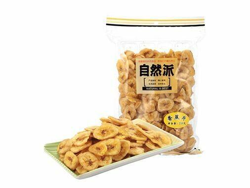 自然派香蕉片 NIB Banana Chips 150g