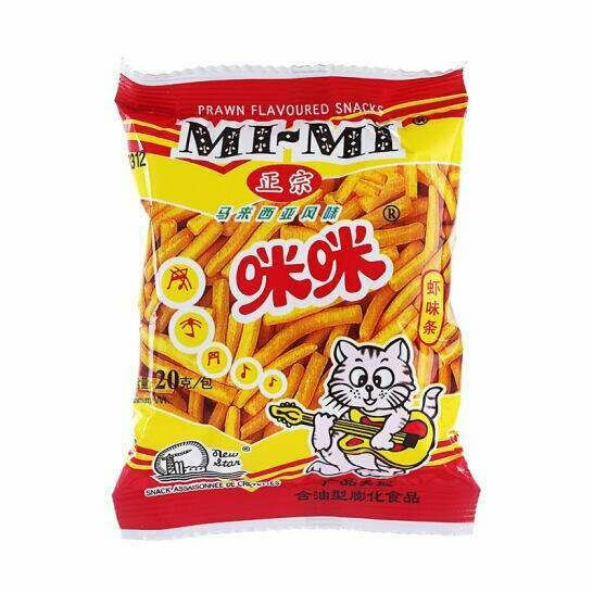 MM Prawn Flavoured Snacks 10x20g