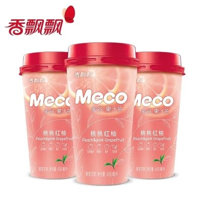 XPP Meco Tea Drink - Peach Grapefruit 400ml