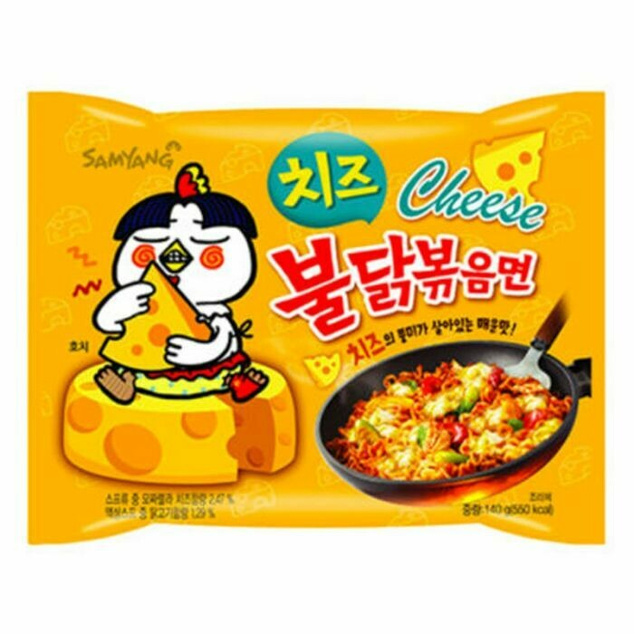 Samyang Hot Chicken Jajang 140g