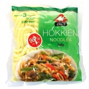 Chef's World Hokkien Noodles - 200g