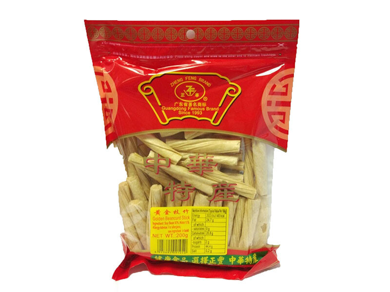 ZF Golden Beancurd Stick 200g