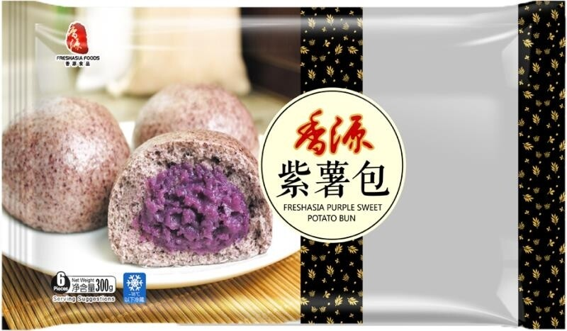 Fresh Asia Purple Sweet Potato Bun 300g