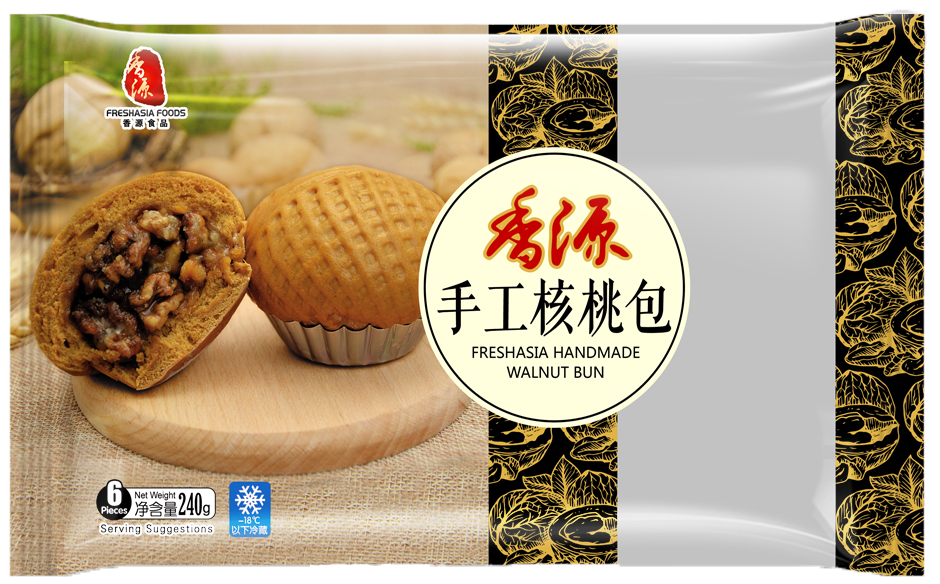 Fresh Asia Handmade Walnut Bun 240g