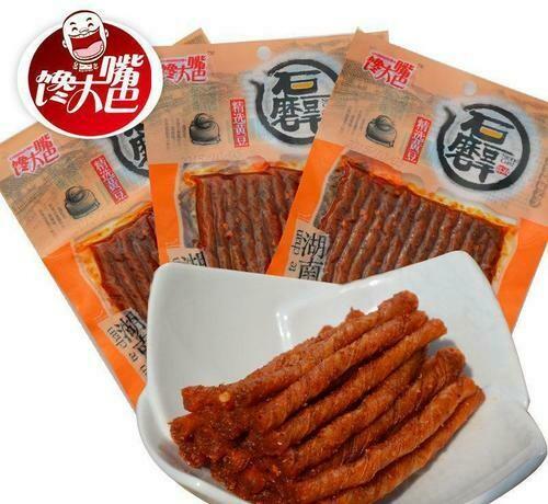 CDZ Spicy Beancurd Strips 110g