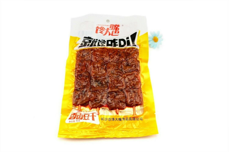 馋大嘴香卤豆干 CDZ Spicy Beancurd