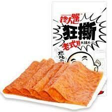 馋大嘴老式大辣片 CDZ Spicy Garlic Beancurd 102g
