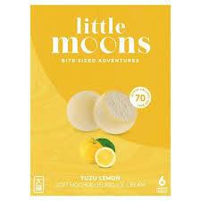 小月亮冰淇淋米糍-柚子柠檬 Little Moons Yuzu Lemon  Mochi Ice Cream 6 x 32g
