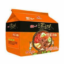 统一汤达人罗宋汤面(五连包) Unif Noodle-Tomato flavour (128g x 5)