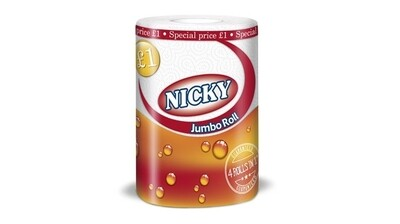Nicky Kitchen Roll Towel 1 roll