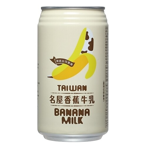名屋香蕉牛奶  Famous House Banana Milk 340ml