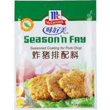 味好美炸猪排配料(袋) McCormick Sesoned Coating for Pork Chop 45g