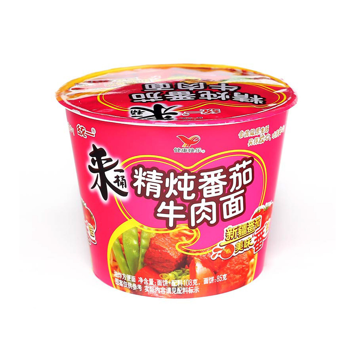 Unif Tomato Beef Bowl Noodle 108g