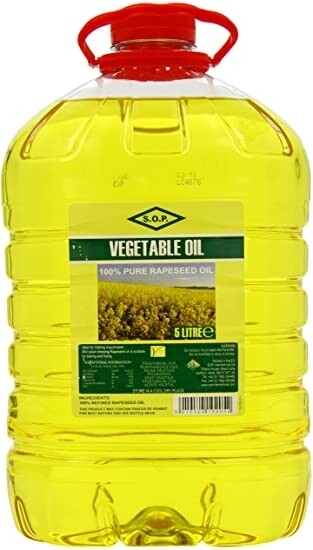 蔬菜油 Vegetables Oil 5L