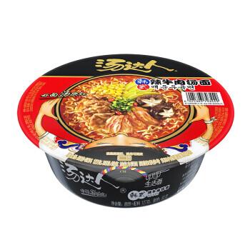 统一汤达人韩式辣牛肉汤面碗装 Unif Noodle Sour Beef 127g