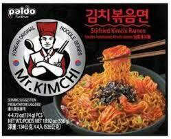 Paldo Kimchi Stirfried Noodles 134g