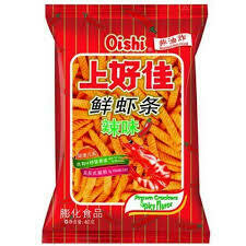 Qishi Prawn Crackers Spicy 40g