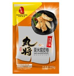 Fresh Asia Sweetcorn Beancurd Roll 200g