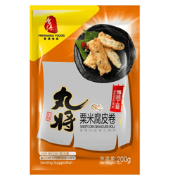 Fresh Asia Sweetcorn Beancurd Roll 200g