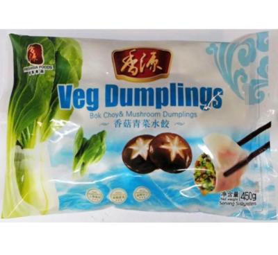Fresh Asia  Bok Choy & Mushroom Dumplings 450