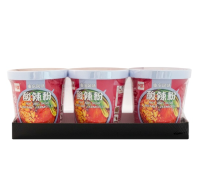 Instant Vermicelli -Hot&Sour (100gx3)