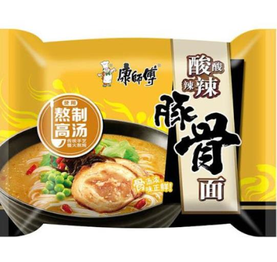 Master Kong Tonkotsu Instant Noodles -Hot&Sour 95g