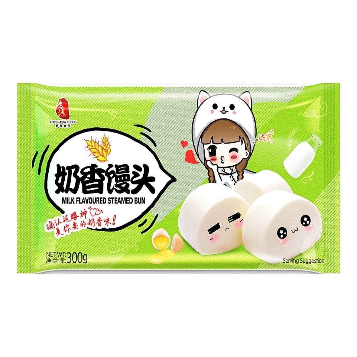 香源奶香馒头 FA Steamed Bun -Milk flavor 300g