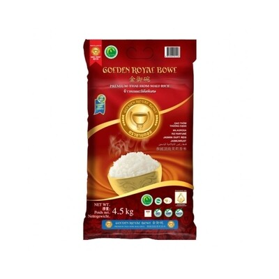 Golden Royal Bowl Premium Thai Jasmine Rice 4.5KG