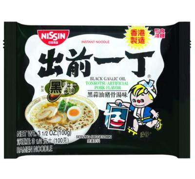 Nissin Demae Ramen - Black Garlic Oil Tonkotsu 100g