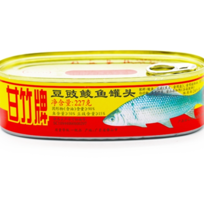 GZ Fried Dace with salted black bens 227g