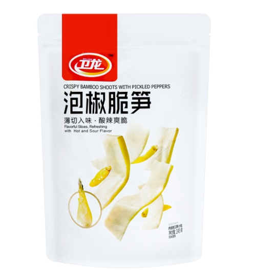 Weilong Crispy Bamboo shoots in Chilli 248g