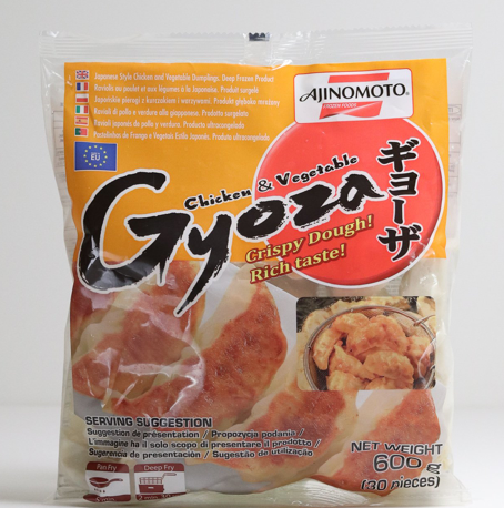 Ajinomoto Chicken and Vegetable Gyoza 600g