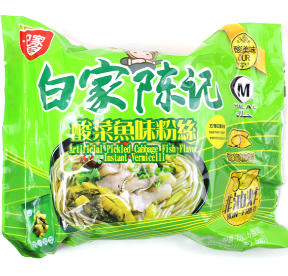 BJ Vermicelli - Pickled Cabbage & Fish 110g