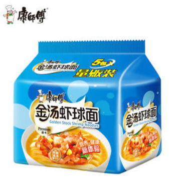 Master Kong Golden Shrimp Noodles 5 packs
