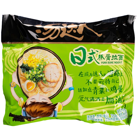 Unif Japanese Style Pork Ribs Noodle 125g
