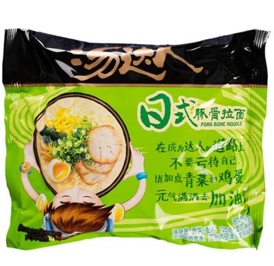 统一汤达人日式豚骨面袋装 Unif Japanese Style Pork Ribs Noodle 125g