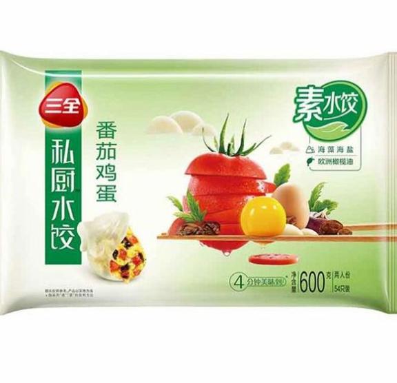 SQ Vege Dumplings - Tomato & Egg 600g